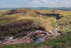 Country near the Carr-Boyd Range in the Kimberley wet season.