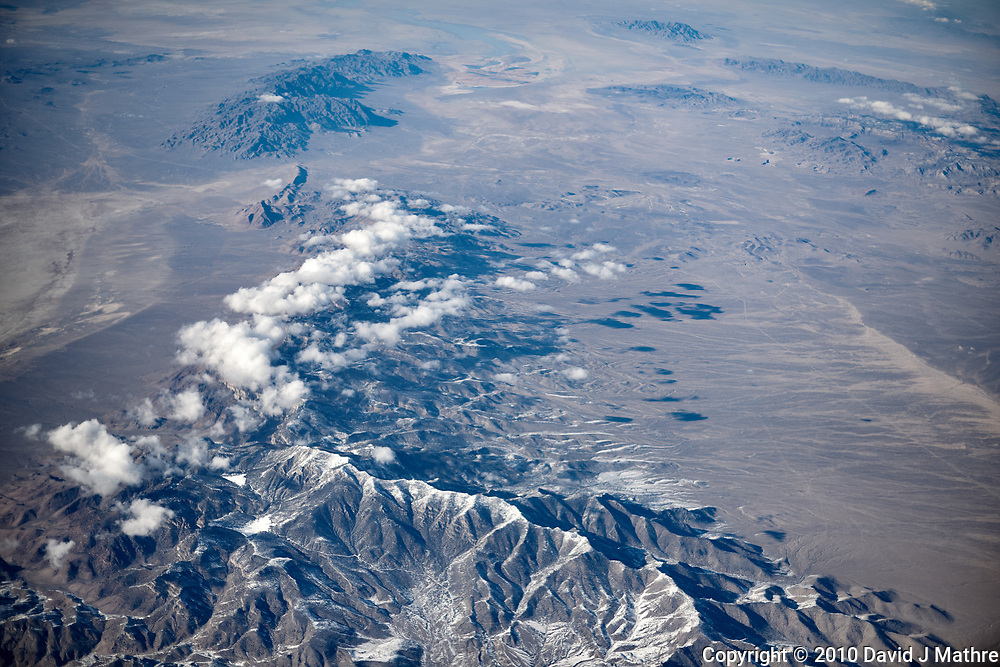 America from the sky. Transcontinental flight from San Francisco to New Jersey. Image taken with a Nikon D3x camera and 50 mm f/1.4 lens <br /> <br /> California or Nevada