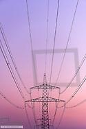 High Voltage Cables, Burgenland, Austria