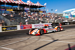 LONG BEACH, CA - APR 15: American Le Mans Driver Kyle Marcelli/Tomy Drissi  of the INtersport Racing Team  during practice run. Photo by Eduardo E. Silva