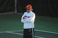 Ole Miss tennis coach Billy Chadwick vs. Georgia in college tennis action at Palmer-Salloum in Oxford, Miss. on Friday, April 1, 2011. Georgia won 4-3.