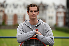 OCT 31 2013 Andy Murray Launches New Head Graphene Radical Tennis Racket