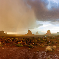 http://Duncan.co/monument-valley-sunset-in-the-rain