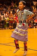 Powwow, kids, Jingle Dancer, American Indian Council Powwow, Montana State University, Montana.
