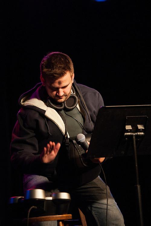 Dan Wilbur as Wesley Willis - Schtick or Treat 2013 - Littlefield, Brooklyn - October 27, 2013