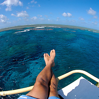 Tourist enjoying a boat ride vacation (MR).Great Barrier Reef, Australia, Pacific Ocean.© KIKE CALVO / V&W.( Great, Barrier, Reef, Australia, South, Pacific, Oceania, tropical, temperate, Pacific, Ocean, blue, underwater, marine, life, coral, reef, corals, reefs, tropical, habitat, ecosystem, fish, fishes, animal, sea, ocean, wild, wildlife, colourful, underwater, pristine, environment )