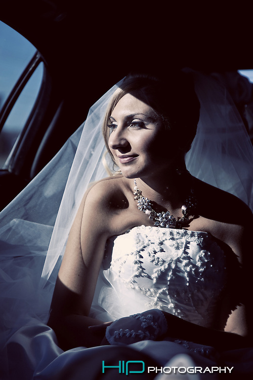 Bride is waiting