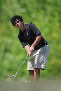 Oxford High golfer Sam Guest at District Golf Tournament at Oxford Country Club on Tuesday, April 20, 2010 in Oxford, Miss.