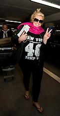 NOV 21 2014 Gemma Collins arrives at Heathrow Airport from Australia