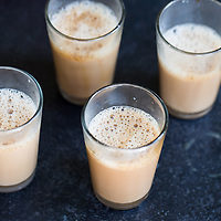 Coffee with milk served in Madurai, India
