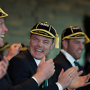 Irish Rugby Team in Queenstown