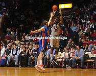 Mississippi's Zach Graham (32) vs. Florida at the Tad Smith Coliseum in Oxford, Miss. on Saturday, February 20, 2010 in Oxford, Miss. Florida won 64-61.