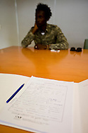 Report on decriminalization of drugs in Portugal.<br /> In the photo : File of Mamadou Ciss&eacute; an alleged drug addict
