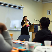 Julie K. Marks , President & Founder of  Volunteer Management Group delivers keynote address at the Volunteer Management for Nonprofits Conference on .March 25, 2011. The event was presented by Volunteer Management Group.