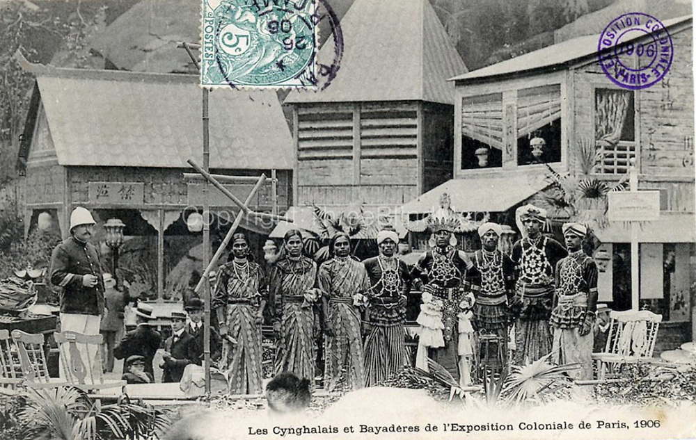 Colonial Exhibition in Paris, France 1906