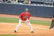 Ole Miss' Preston Overbey(1) at Oxford-University Stadium in Oxford, Miss. on Sunday, March 6, 2010. Tulane won 3-1.
