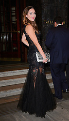 Nina Rush attends The Breast Cancer Care Fashion Show at The Grosvenor House Hotel, Park Lane London UK on Wednesday Ist October 2014