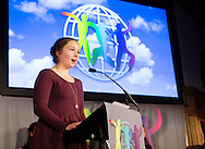 The World&rsquo;s Children&rsquo;s Prize Ceremony 2015 was held at Gripsholms Castle in Mariefred, Sweden. Emma Mogus, 16, from Canada and representative of the WCP Child Jury was the Master of ceremony.  Photo: Sofia Marcetic/World's Children's Prize<br /> <br /> Since the year 2000, the World&rsquo;s Children&rsquo;s Prize program has educated and empowered over 38 million children. It&rsquo;s the world&rsquo;s largest annual educational initiative for equality, the rights of the child and democracy. The program is run annually in schools worldwide. Each year, three out&not;standing child rights heroes are selected by the Child Jury as candidates for the World&rsquo;s Children&rsquo;s Prize for the Rights of the Child.  The three candidates are then presented to the world&rsquo;s children through  the WCP magazine The Globe, video, web and social media. Tens of thousands of volunteers and organisations help to implement the WCP program every year, including at least 50,000 teachers and over a hundred organisations, social enterprises and departments of education. Over 67,000 schools in 113 countries have signed up for the WCP.<br />     The WCP program concludes with an annual Global Vote in which millions of children vote to elect their child rights hero of the Year. The majority of children who participate are vulnerable, such as former child soldiers and child slaves. Three global legends have got behind the WCP as patrons: Nelson Mandela, Aung San Suu Kyi, and Xanana Gusm&atilde;o. Other patrons include H.M. Queen Silvia of Sweden, Gra&ccedil;a Machel and Desmond Tutu.<br />    The WCP program was founded in the year 2000 and is run by Swedish non-profit the World&rsquo;s Children&rsquo;s Prize Foundation (WCPF). The WCPF receives funding from several bodies including the Swedish Postcode Lottery, Sida (the Swedish International Development Cooperation Agency), H.M. Queen Silvia&rsquo;s Care About the Children Foundation, the Surv&eacute; Family Foundation, Giving Wings, Futura Foundations and eWork. The WCPF received the highest possible rating in th