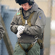 Prince William at RAF Carnwell Elementary Flying Training School.