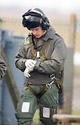 Prince William at RAF Carnwell Elementary Flying Training School.