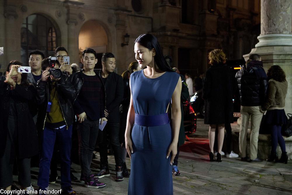 Paris Fashion Week, Lanvin, actress Viann Shang