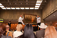 The Russell, C.M. Russell Museum Sale, Great Falls, Montana, 2011, Curtain Call by Brent Cotton, $17,500
