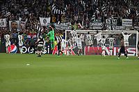 can - 09.05.2017 - Torino - Champions League Semifinale  -  Juventus-Monaco nella  foto:  l'esultanza dei giocatori della Juventus a fine partita