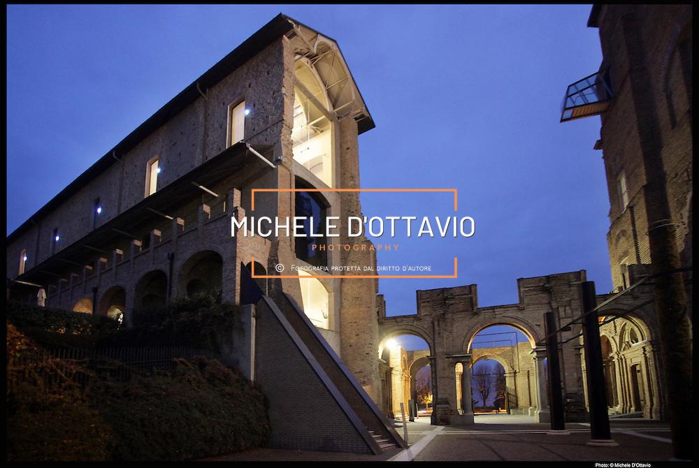 Museo d'arte contemporanea  Castello di Rivoli è stato una residenza sabauda, nel comune di Rivoli, in provincia di Torino
