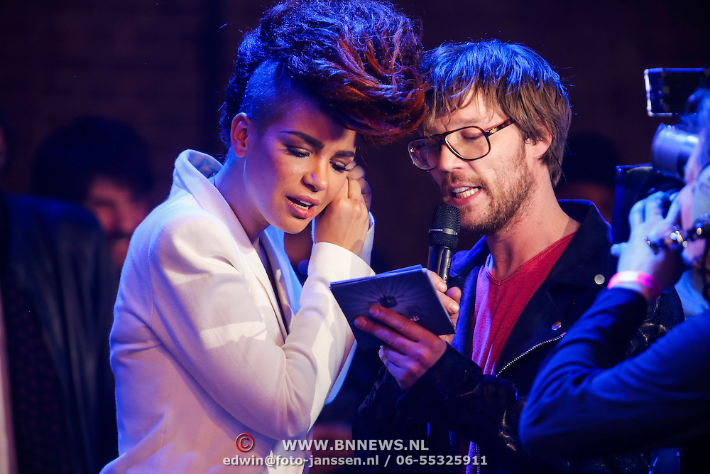 NLD/Amsterdam/20130418- Uitreiking 3FM Awards 2013, Eva Simons