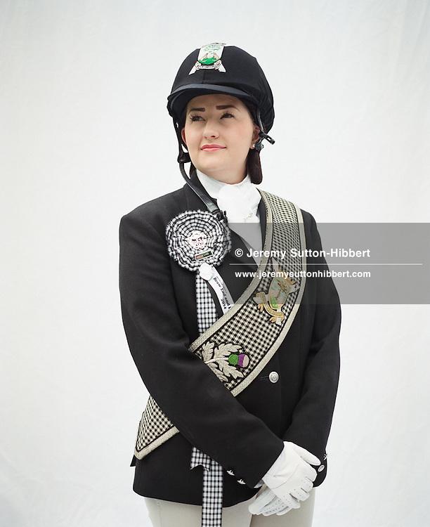 Alice Mackay, Galashiels Braw Lass 2014 - Riders and dignitaries during Galashiels Braw Lads Gathering 2014, Galashiels, Scotland, Wednesday 18th June 2014.