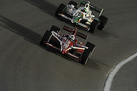 Dario Franchitti, Tony Kanaan, Cafes do Brasil Indy 300, Homestead Miami Speedway, Homestead, FL USA,10/2/2010