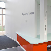reception at lister hospital, hertfordshire