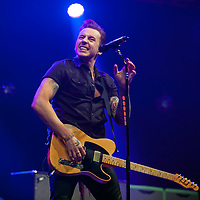 Danny Jones of McBusted performs on stage as part of Clyde 1 Live at The SSE Hydro on December 6, 2014 in Glasgow, United Kingdom. (Photo by Ross Gilmore