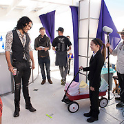 &quot;Beach Blanket Big Time&quot;--Pictured: Russell Brand in &quot;Big Time Rush&quot;  on Nickelodeon<br /> photo by: Lisa Rose/Nickelodeon<br /> &copy;2010 Viacom International Inc. All Rights Reserved