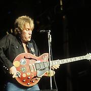 ALVIN LEE live at Reading Rock Festival 1983, London England.<br /> Photo Credit : David Plastik/Retna