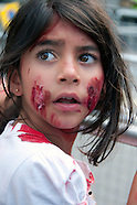 Palestinians in London  protest Bloodshed in Gaza July 2014