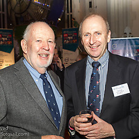 (l to r) Dan Brennan (DBSC Mermaid Class) and Con Murphy (Racing Director, Volvo Dún Laoghaire Regatta) attending the official launch of Volvo Dún Laoghaire Regatta 2017 in the National Maritime Museum of Ireland on Wednesday evening. The Regatta will be among the biggest mass-participatory sporting event in Ireland this year (eclipsed for numbers only by the city marathons).