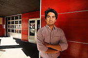 Jonathan Ledesma is a partner at Project Ecological Development, who recently purchased the former Red Cap Garage on Southwest Stark Street and an adjacent building on West Burnside which formerly housed the Aura nightclub.