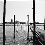 Gondolas, Venice, Italy 2009