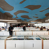Seinäjoen Apila kirjasto - Apila library in Seinäjoki, Finland designed by JKMM Architects