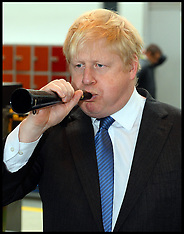 FEB 25 2014 Boris Johnson visits  engineering, education and research