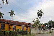 Houses in Guaos, Cienfuegos Province, Cuba.
