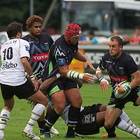 rugby section paloise pau versus la rochelle pro d2 division