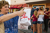 People Line Up in Chandler to Support Chick-fil-A