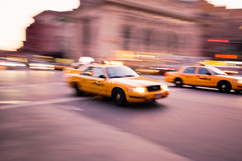 New York Yellow Taxi abstracts in October 2008