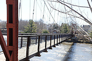 The Save Our Swinging Bridge 5k is an annual race that raises awareness and funds for the maintenance and beautification of this Roebling & Co, 1892 built wire rope suspension bridge. Same fame as the Brooklyn Bridge