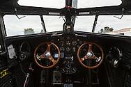 Cockpit of Ford Trimotor.