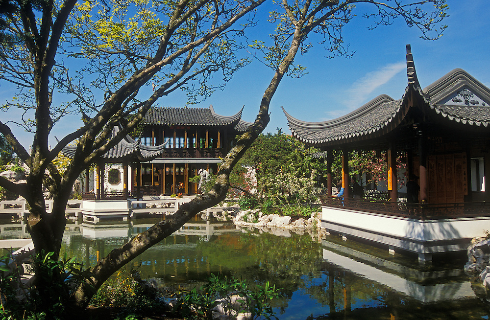 Lan Su Chinese Garden Portland Oregon Greg Vaughn Photography