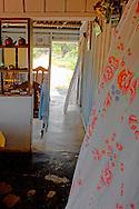 Farm house interior near Pons, Pinar del Rio, Cuba.