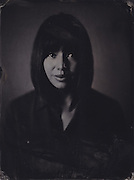 Emma Booth, tintype portrait made with wetplate collodion process.